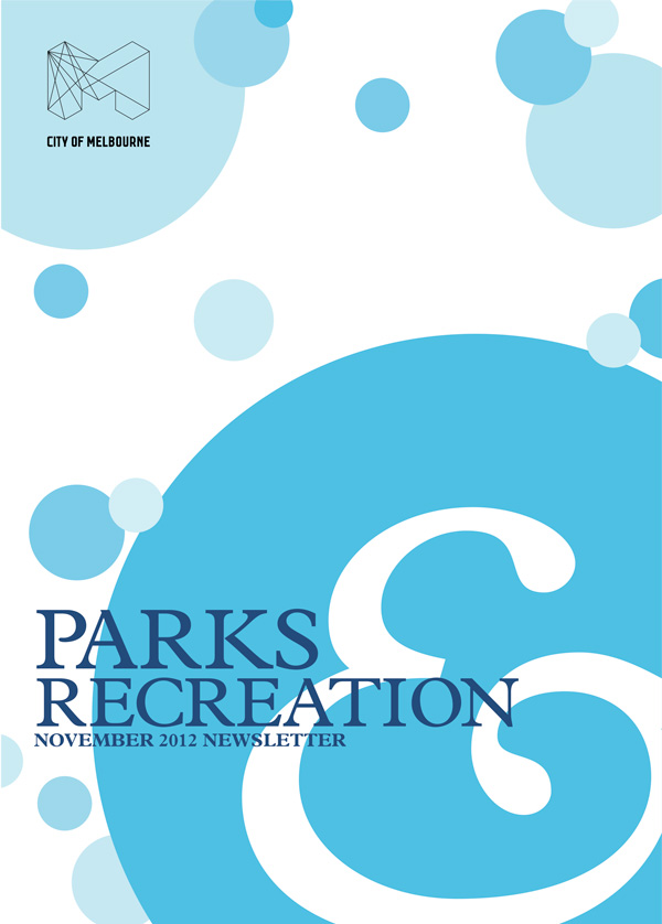 parks and recreations leaflet design